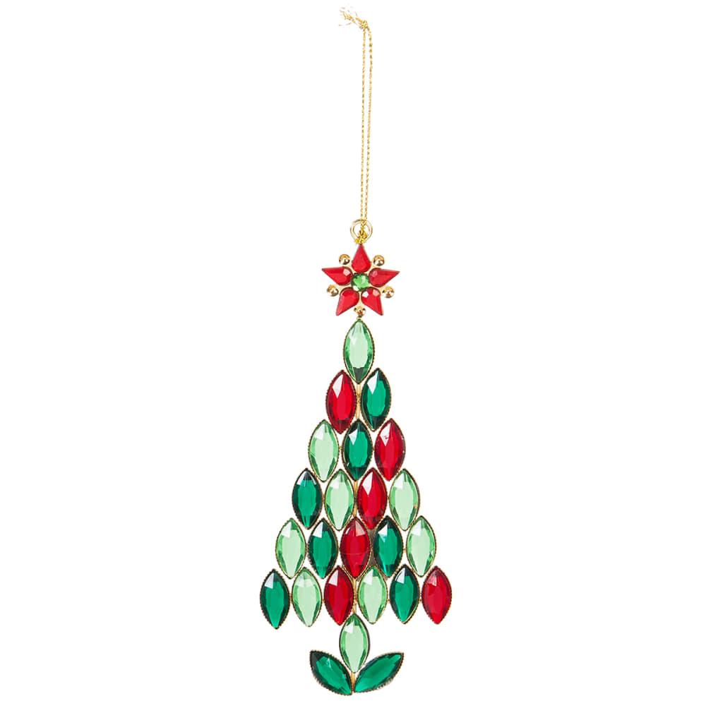 EVERGREEN ENTERPRISES Tree with Star Gem Ornament NO SIZE