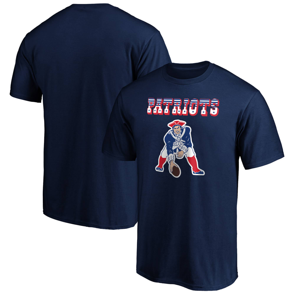 NEW ENGLAND PATRIOTS Men's NFL Pro Line Victory Arch Short-Sleeve Tee M