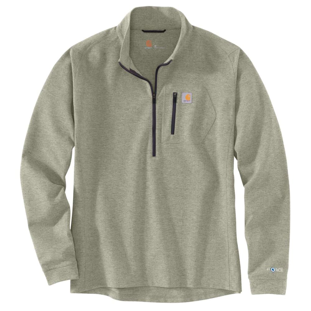 CARHARTT Men's Base Force Heavyweight Quarter Zip Shirt L