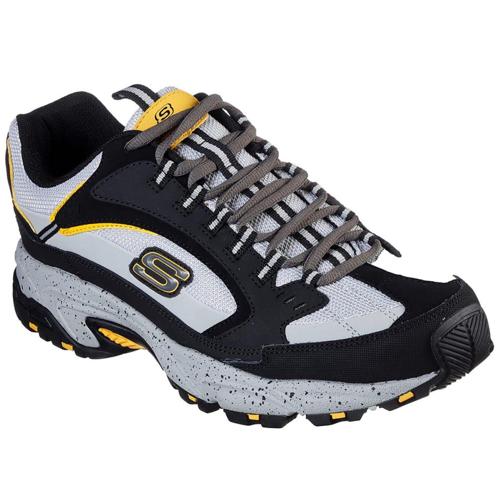 Skechers Men's Stamina Cutback Sneaker, Wide - Black, 9