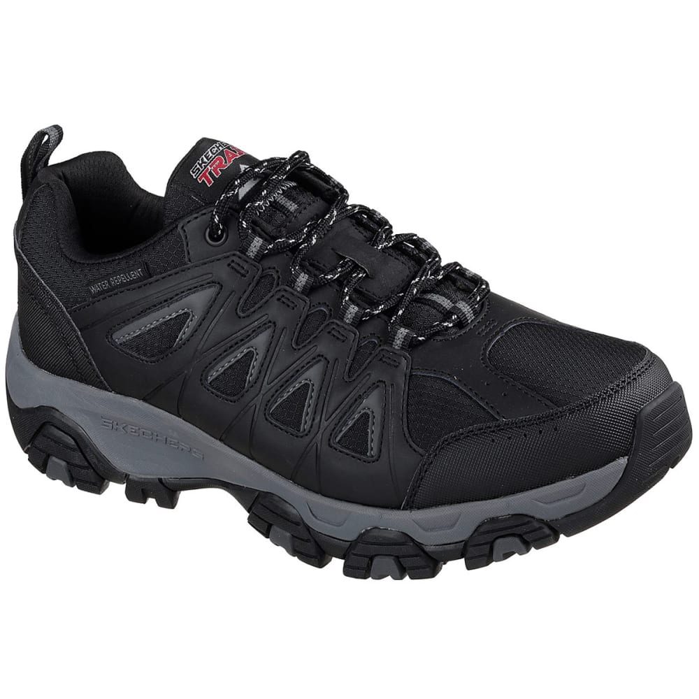 Skechers Men's Terrabite Trail Shoe, Wide - Black, 9