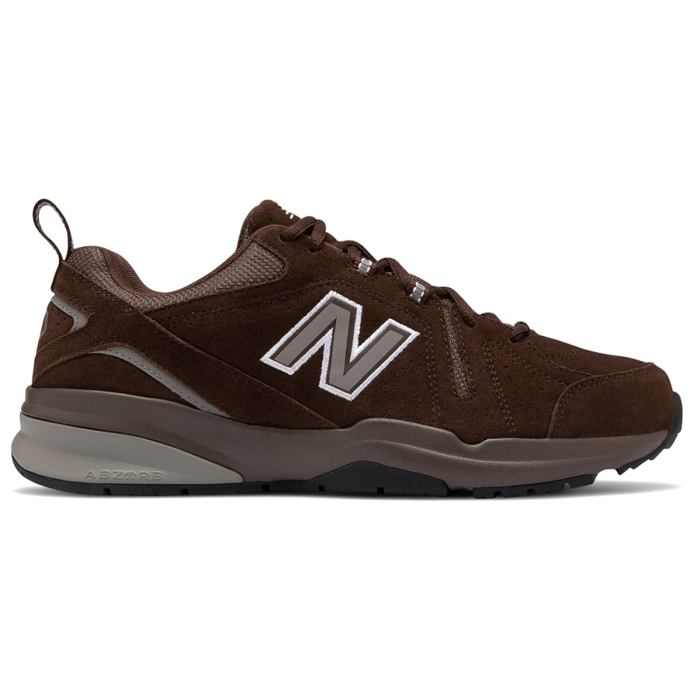 New Balance Men's 608V5 Training Shoes, Wide - Brown, 7.5