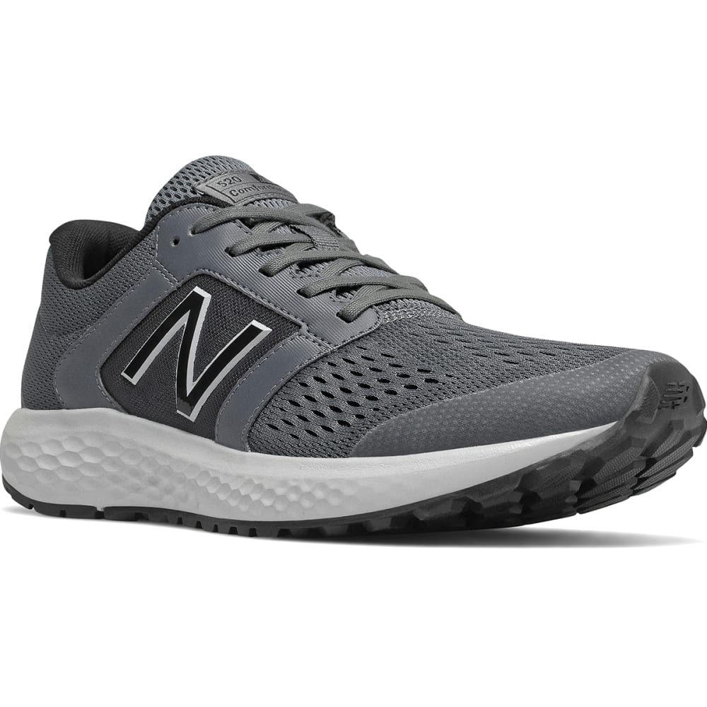 New Balance Men's 520 V5 Running Shoe, Wide - Black, 7.5