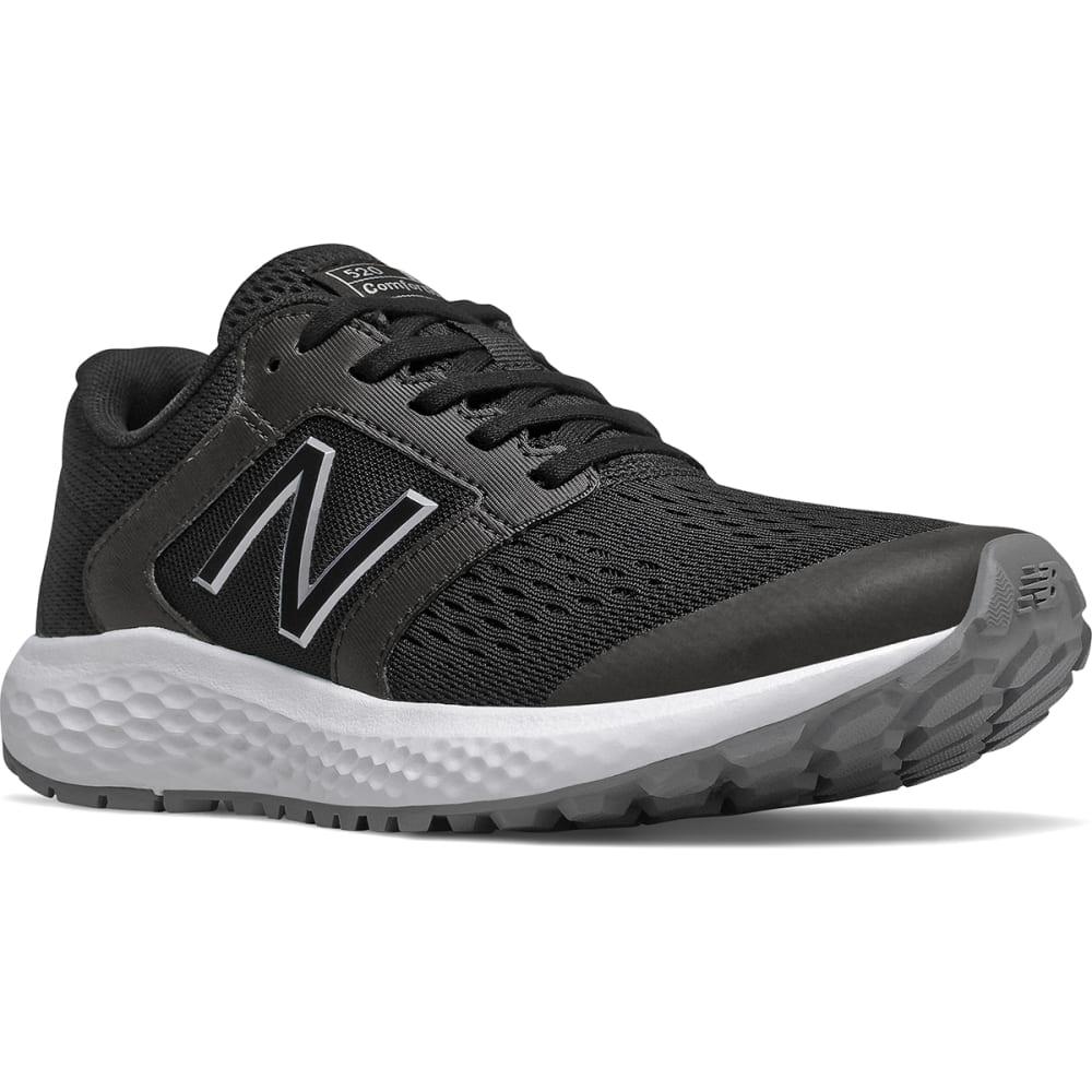 New Balance Women's 520 V5 Running Shoe - Black, 6.5