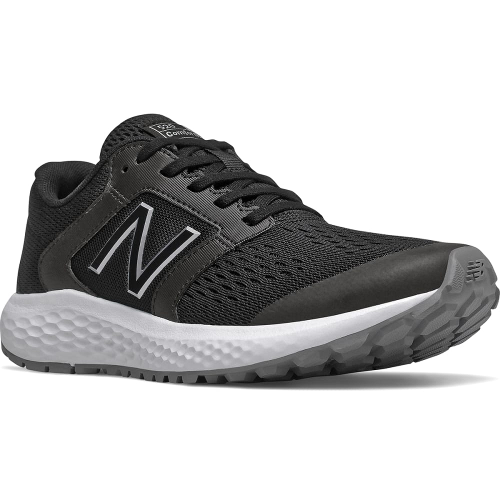 New Balance Men's 520 V5 Running Shoe, Wide - Black, 6