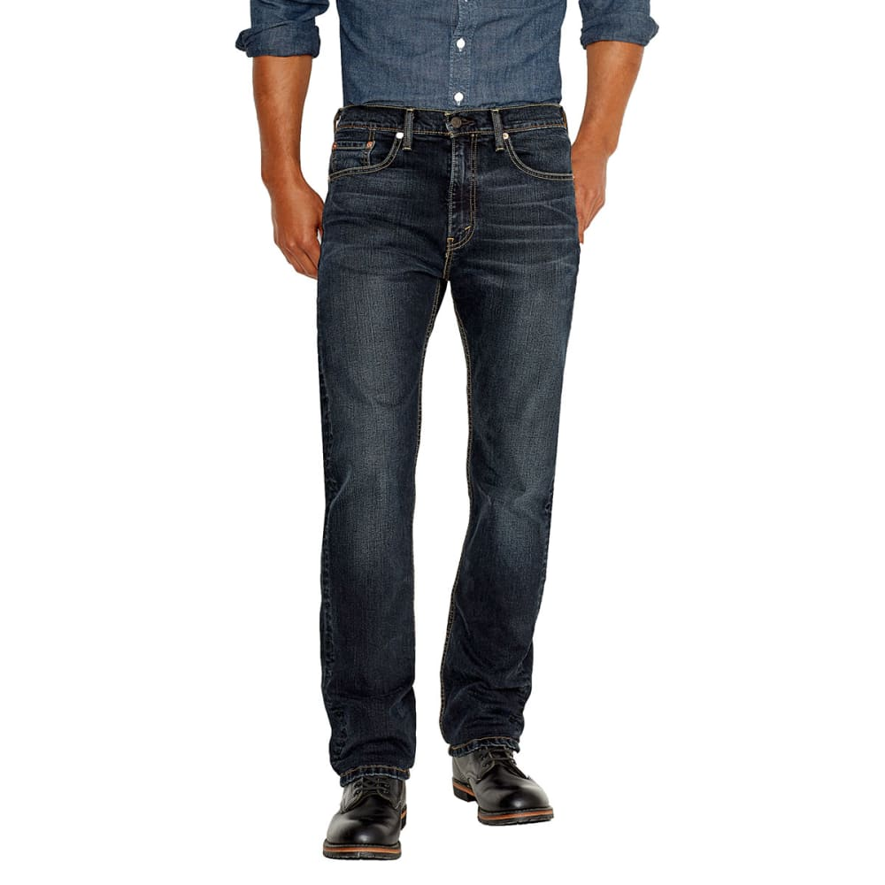 LEVIS Men's 505 Straight Fit Jeans - NAVARRO 1330