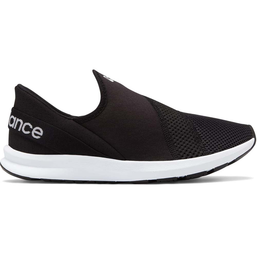 New Balance Women's Fuelcore Nergize Easy Slip-On Shoes - Black, 6.5