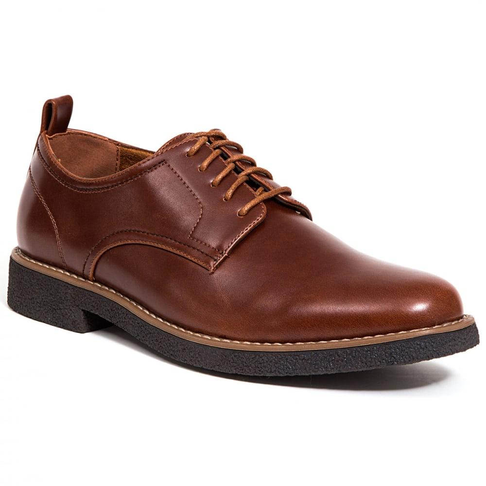Deer Stags Men's Highland Dress Oxford Shoe - Brown, 9
