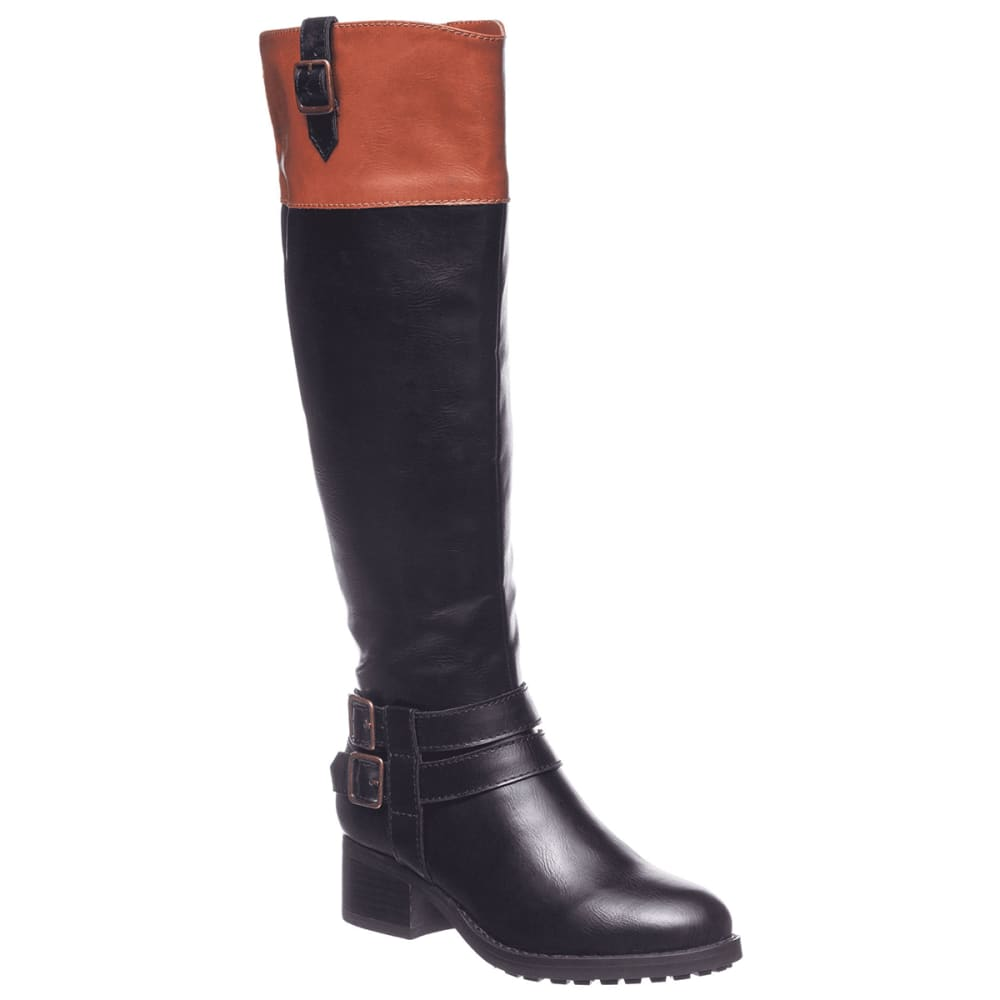 RAMPAGE Women's Ingred Wide Calf Riding Boots 7.5