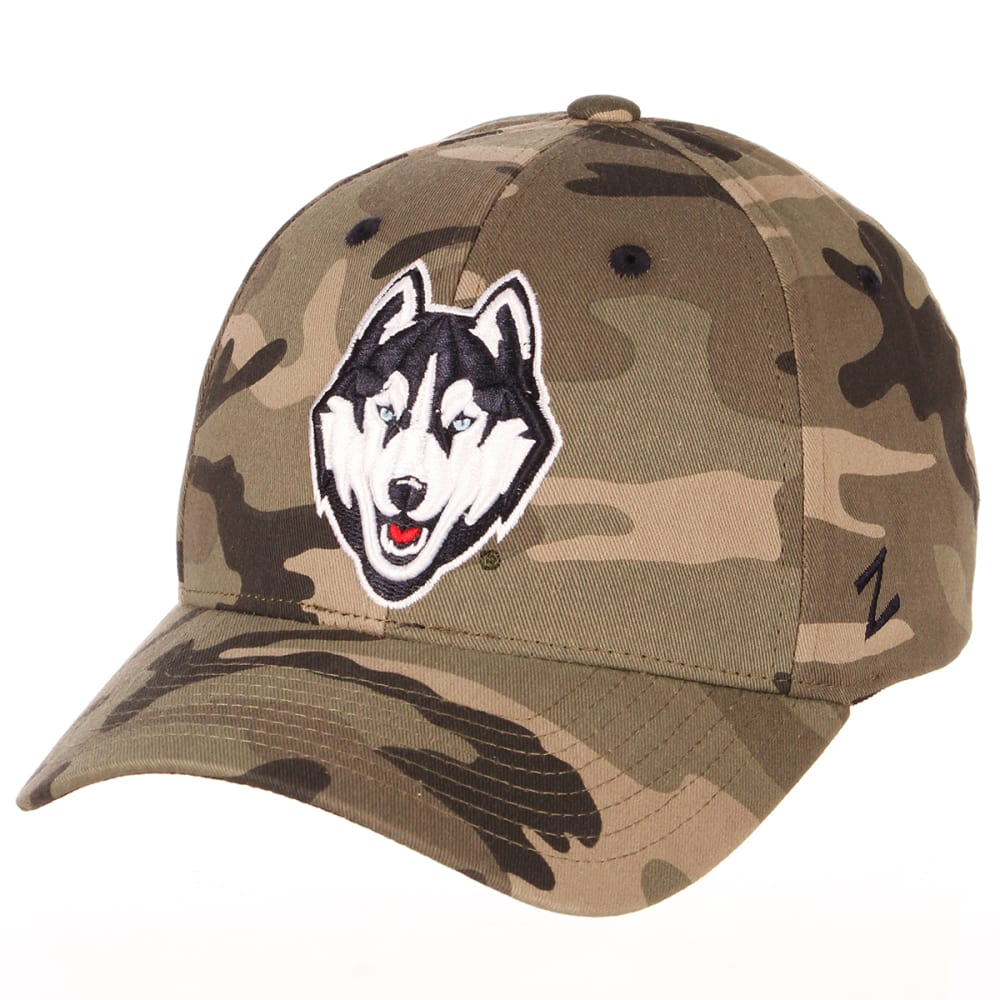 UCONN  Men's Remington Camo Adjustable Hat ONE SIZE