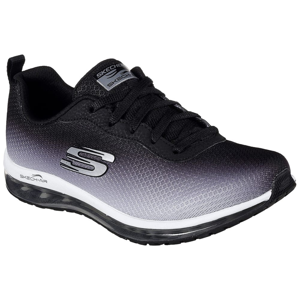 Skechers Women's Skech Air Element Sneakers - Black, 6.5