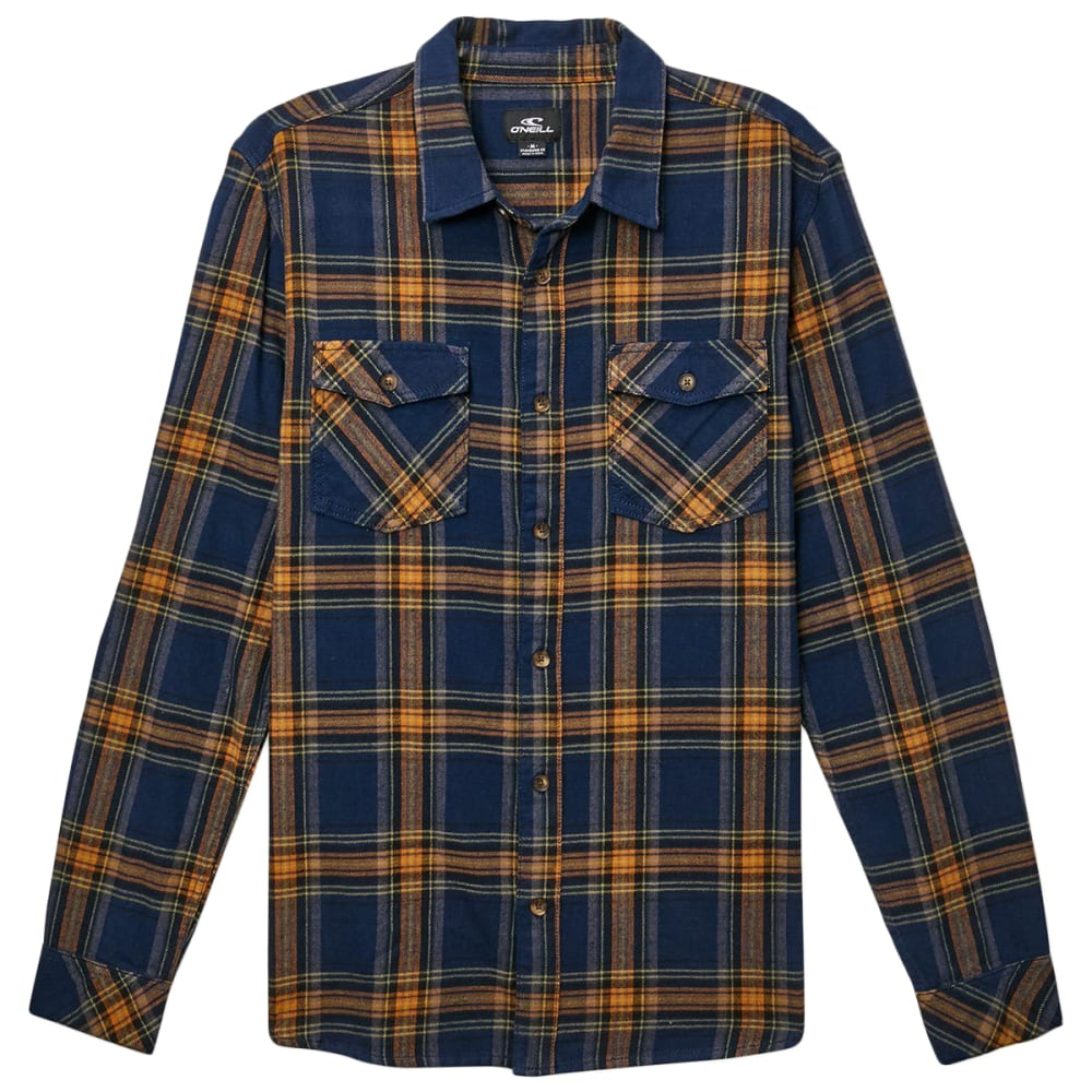 O'neill Men's Highland Flannel Shirt - Blue, S