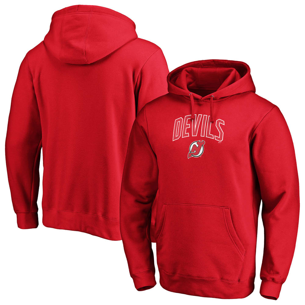 NEW JERSEY DEVILS Men's Engage Arch Pullover Hoodie M