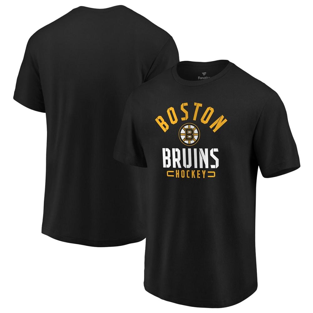 BOSTON BRUINS Men's Short-Sleeve Arc Stack T-Shirt M