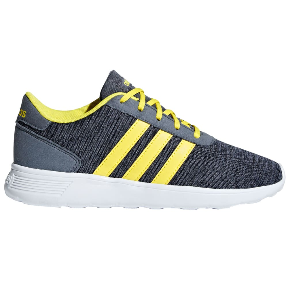 ADIDAS Boys' Lite Racer Running Sneakers - CHARCOAL