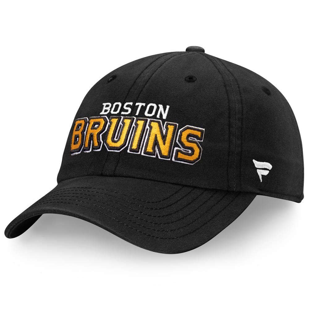 BOSTON BRUINS Men's Core Adjustable Hat ONE SIZE