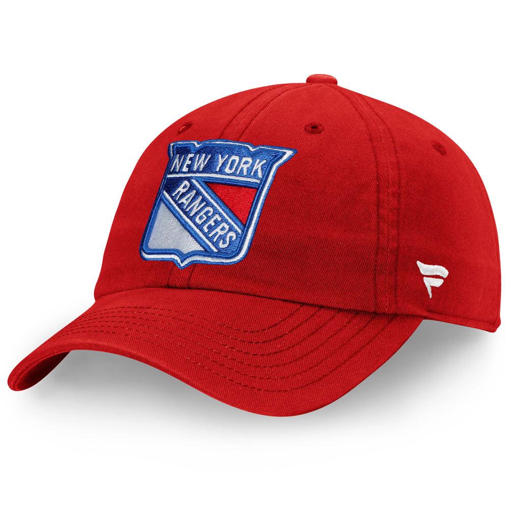 NEW YORK RANGERS Men's Core Adjustable Hat ONE SIZE