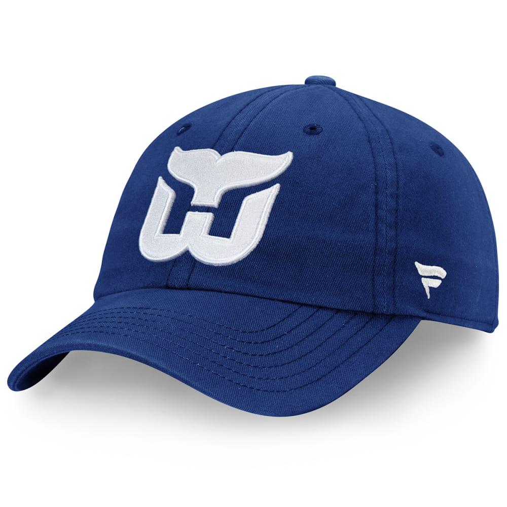 HARTFORD WHALERS Men's Core Adjustable Hat ONE SIZE