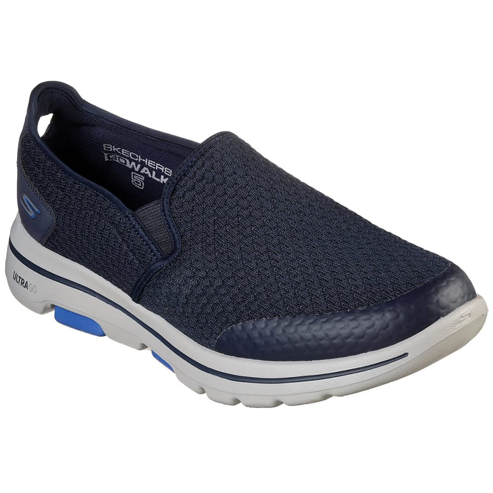 Skechers Men's  Gowalk 5 Apprize Slip On Shoes - Blue, 9