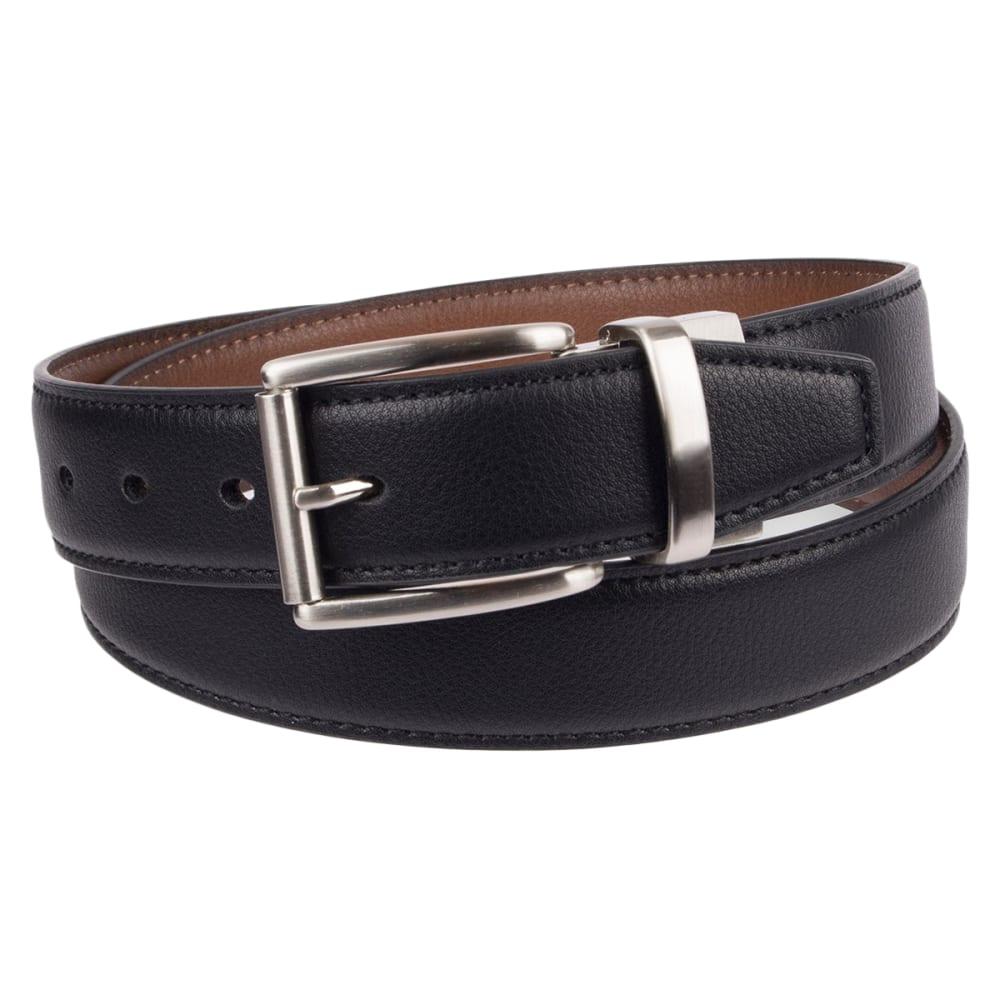 DOCKERS Men's 35mm Reversible Stretch Belt - BLACK/BROWN