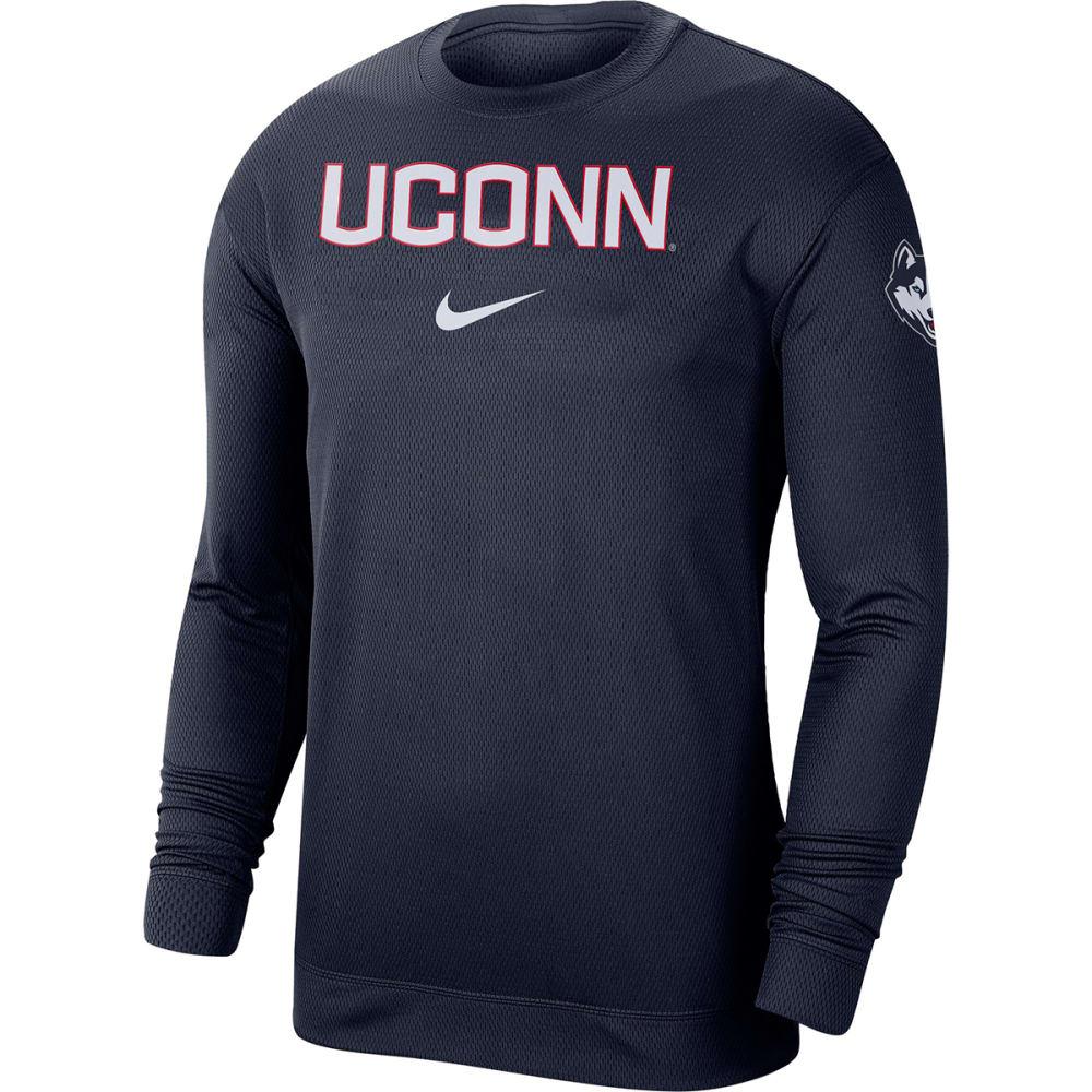 UCONN Men's Nike Dri-FIT Long-Sleeve Tee M