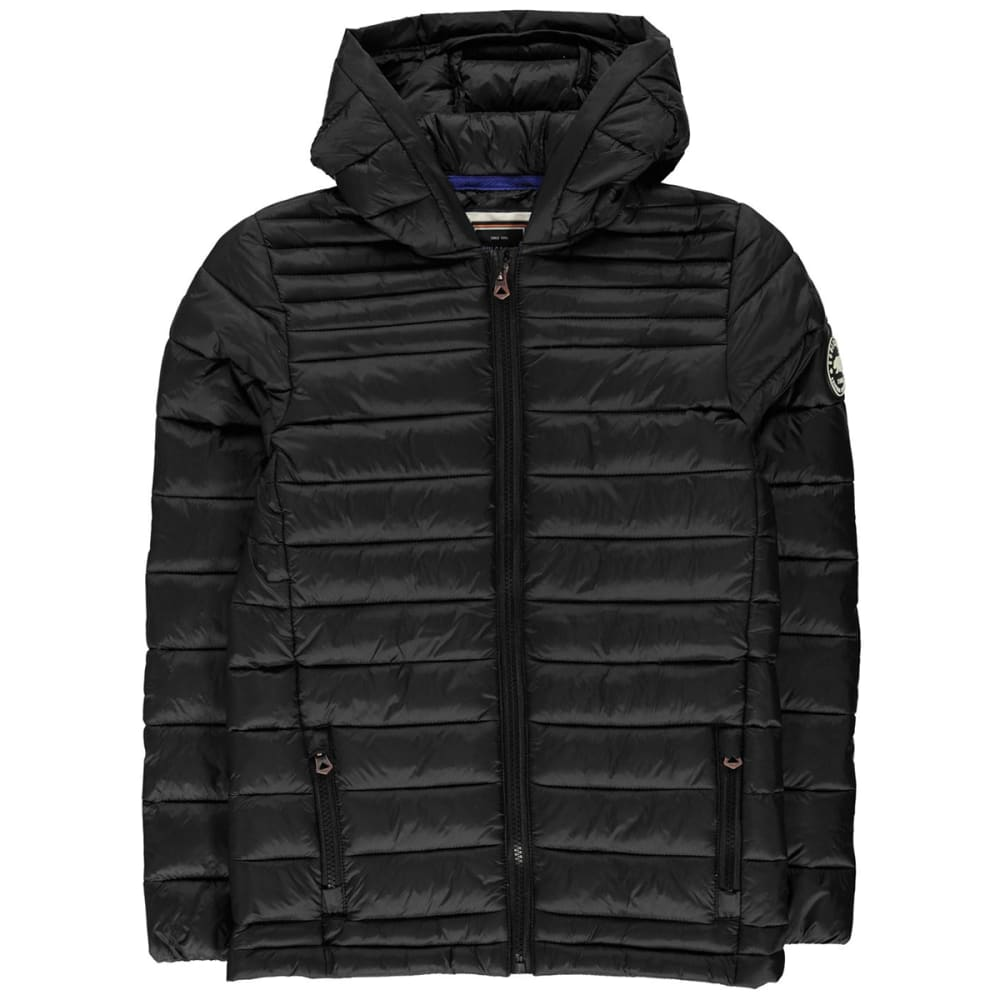 SOULCAL Boys' Micro Bubble Hooded Jacket 11-12