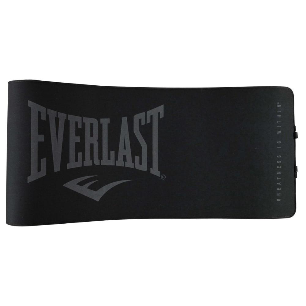 EVERLAST Unisex Yoga and Exercise Mat - BLACK/GREY