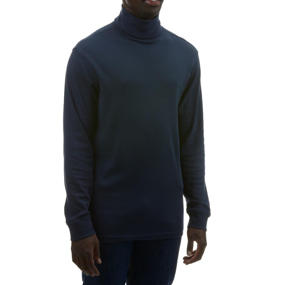 RUGGED TRAILS Men's Interlock Knit Turtleneck XL