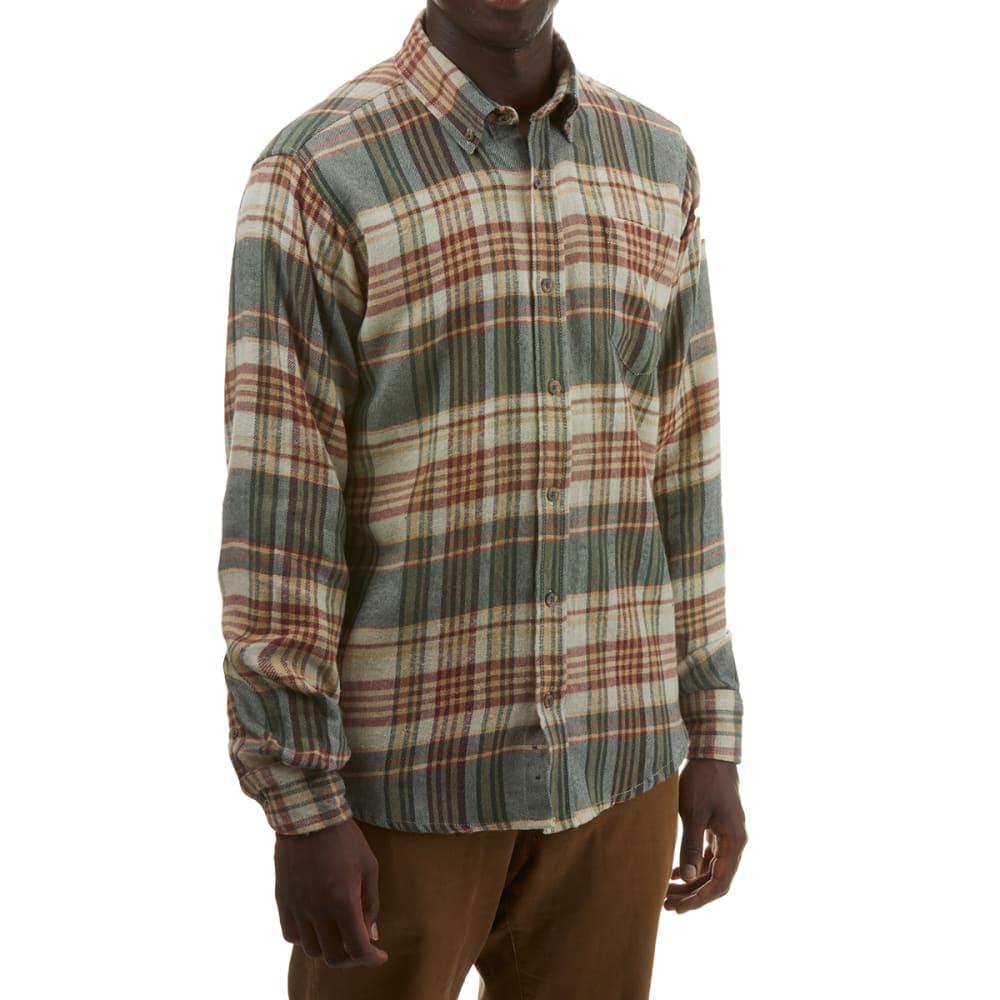 RUGGED TRAILS Men's Plaid Flannel Shirt S