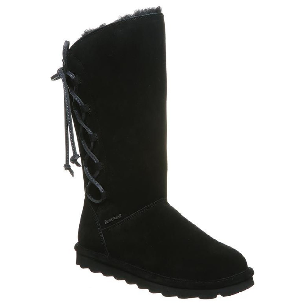 BEARPAW Women's Rita Sidelace Boot 6