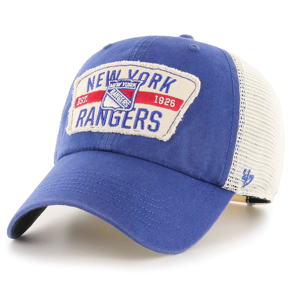 NEW YORK RANGERS Men's Crawford Mesh Adjustable Hat ONE SIZE