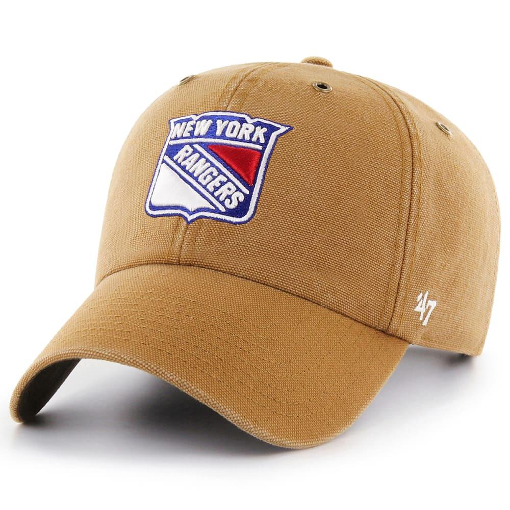 NEW YORK RANGERS Men's Carhartt X '47 Brand Clean Up Hat ONE SIZE