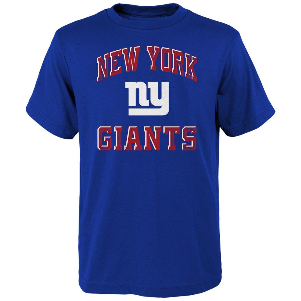NEW YORK GIANTS  Boys' Short-Sleeve Power Tee S