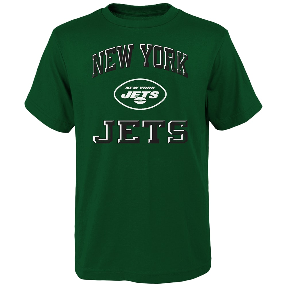 NEW YORK JETS Boys' Short-Sleeve Power Tee M