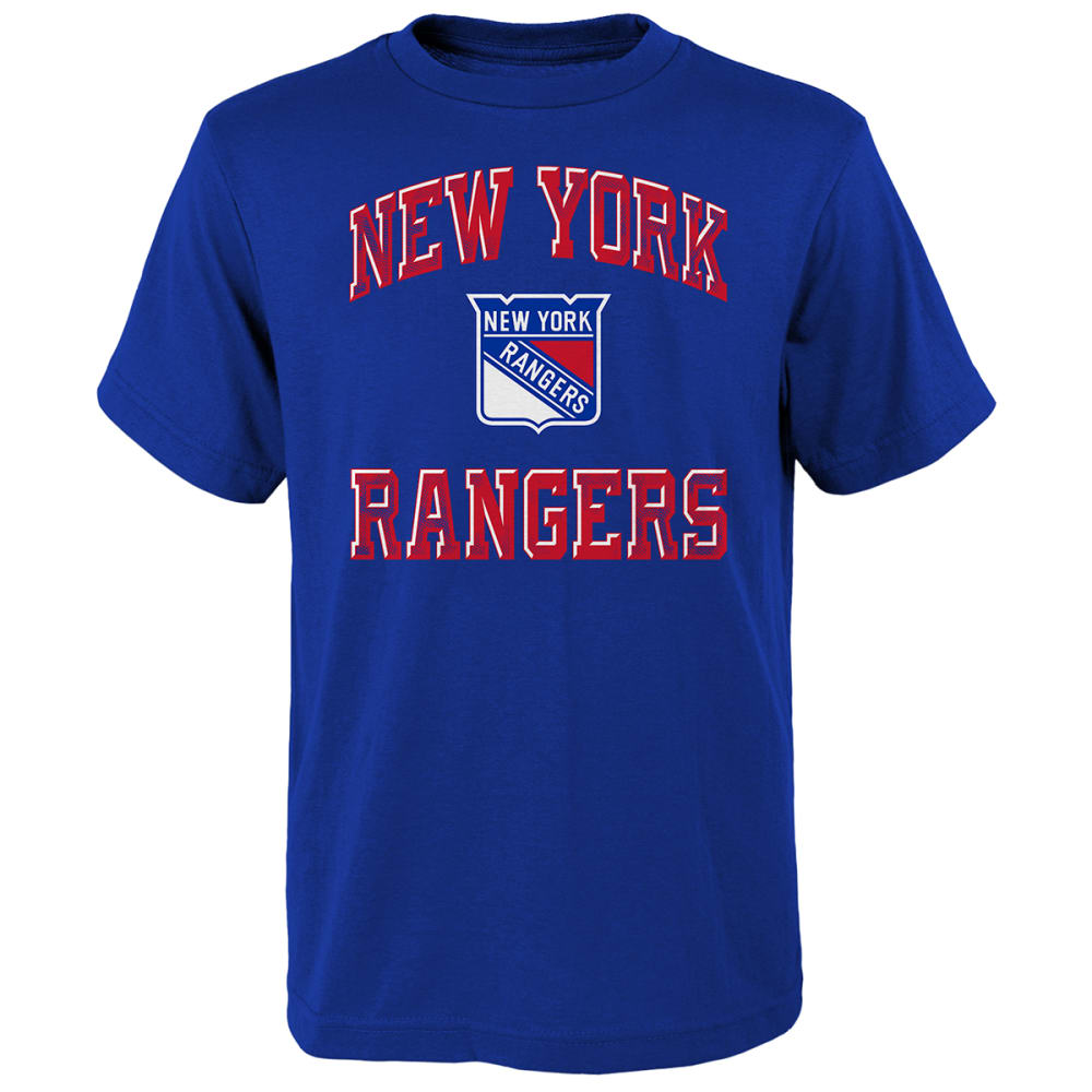 NEW YORK RANGERS Boys' Short-Sleeve Power Tee S