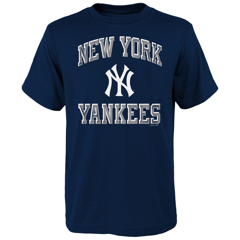 NEW YORK YANKEES Boys' Short-Sleeve Power Tee S