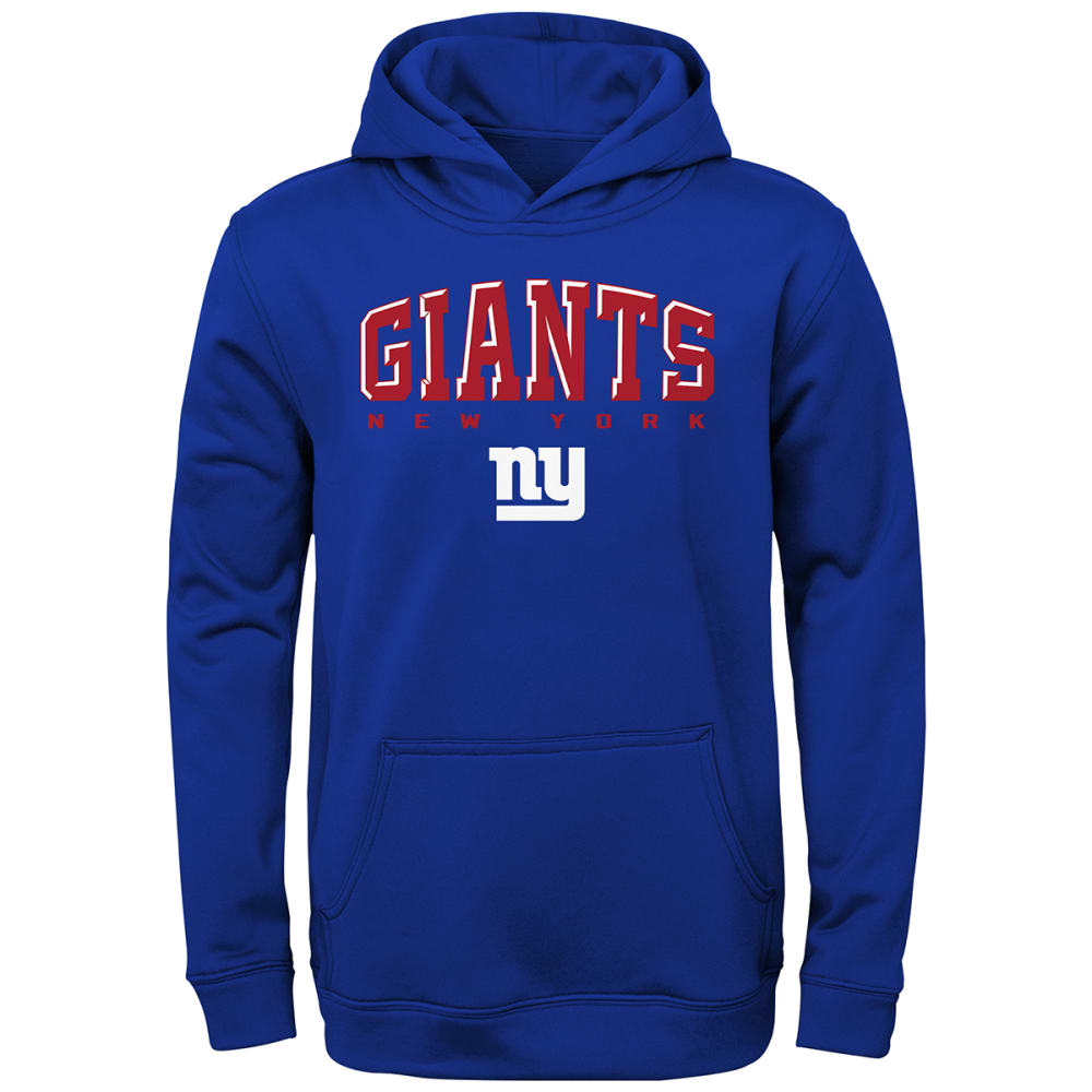 NEW YORK GIANTS Boys' Adapt Pullover Hoodie S