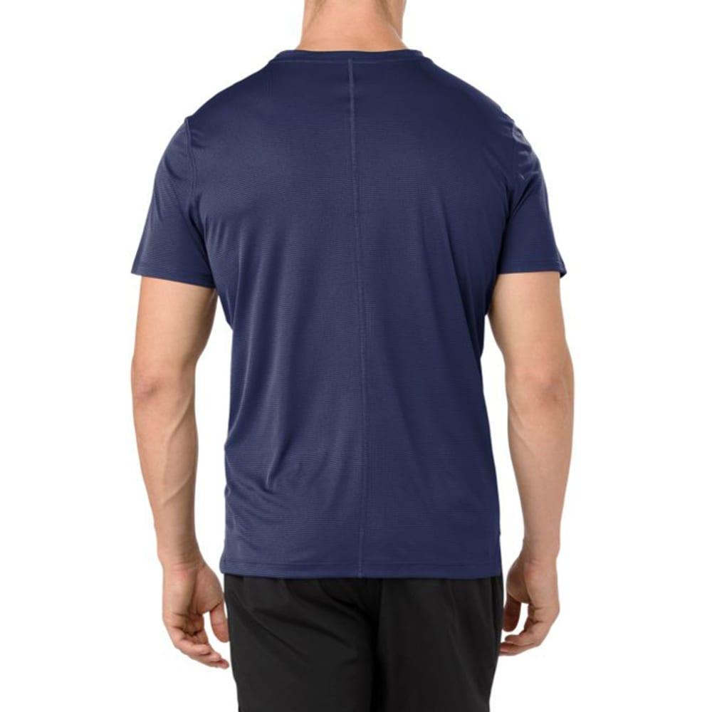 ASICS Men's Short-Sleeve Silver Performance Tee - INDIGO BLUE-416