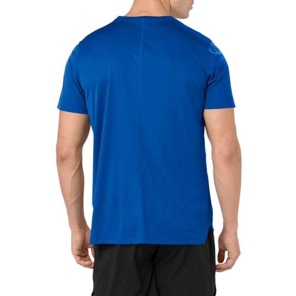 ASICS Men's Short-Sleeve Silver Performance Tee - ILLUSION BLUE-402