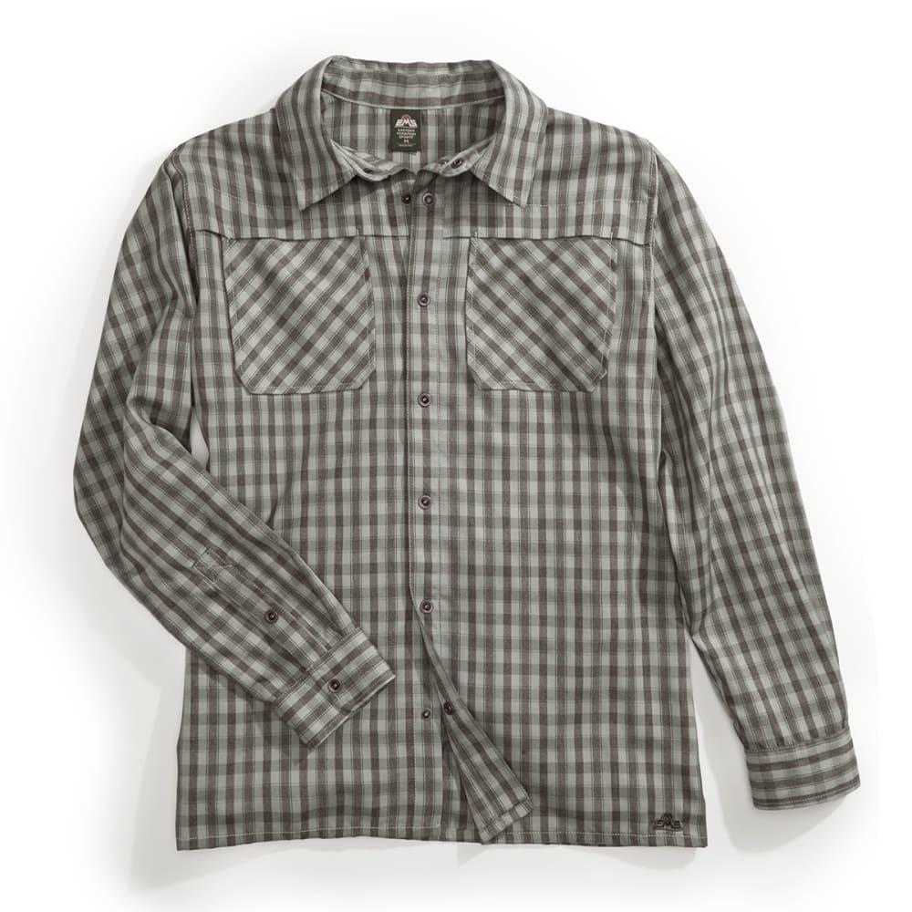 EMS Men's Quinnipiac Tech Flannel Long Sleeve Shirt S
