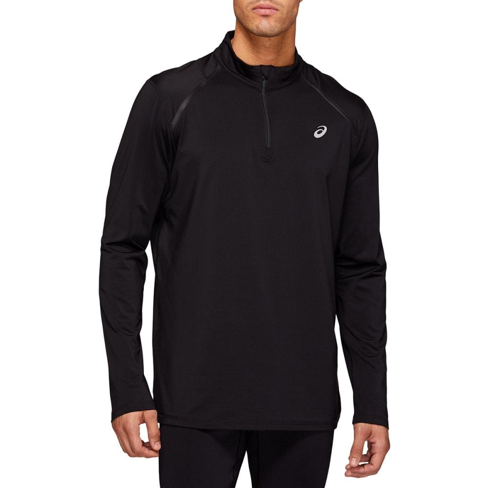 ASICS Men's Thermopolis Long-Sleeve Quarter Zip Pullover S