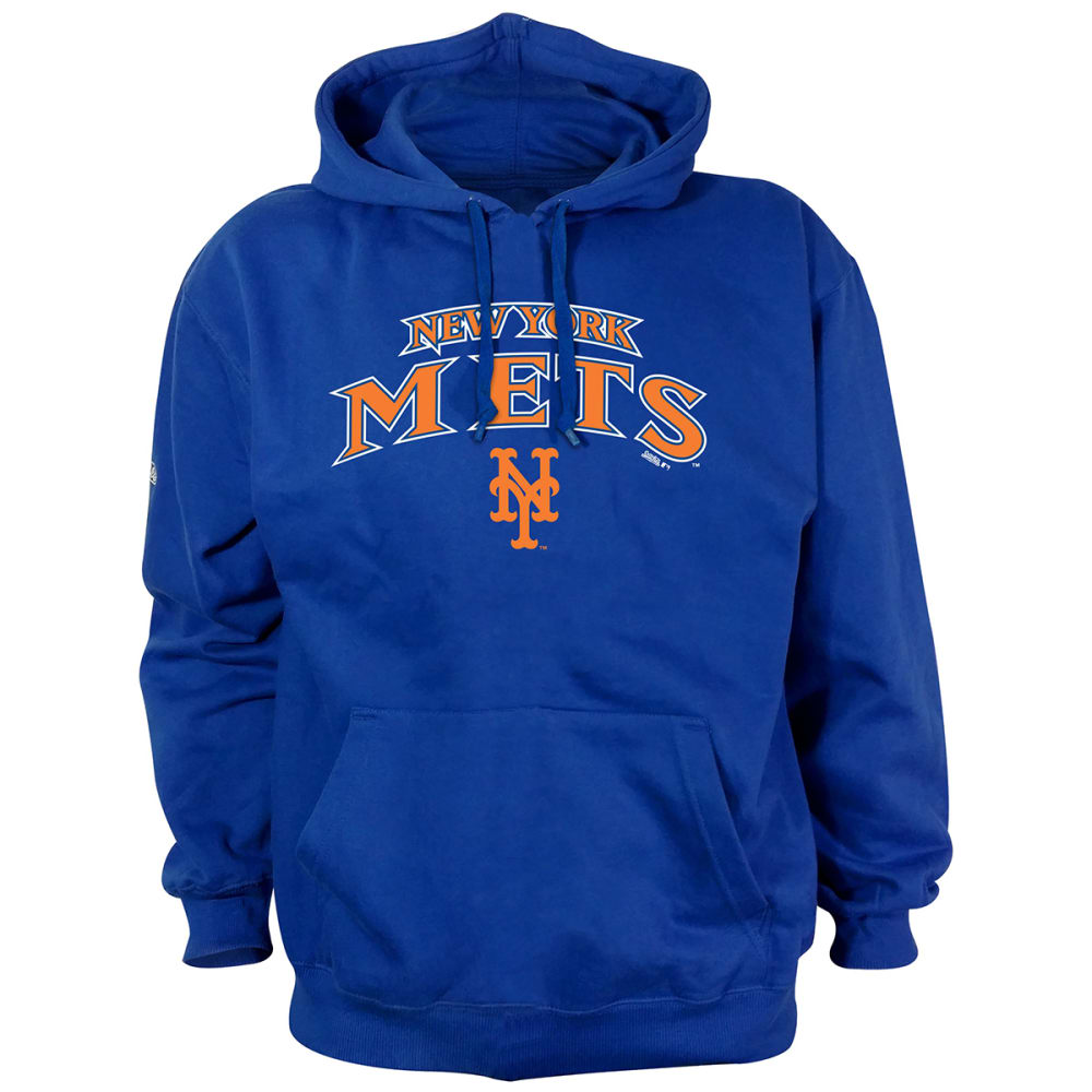 NEW YORK METS Men's Stitches Pullover Hoodie M