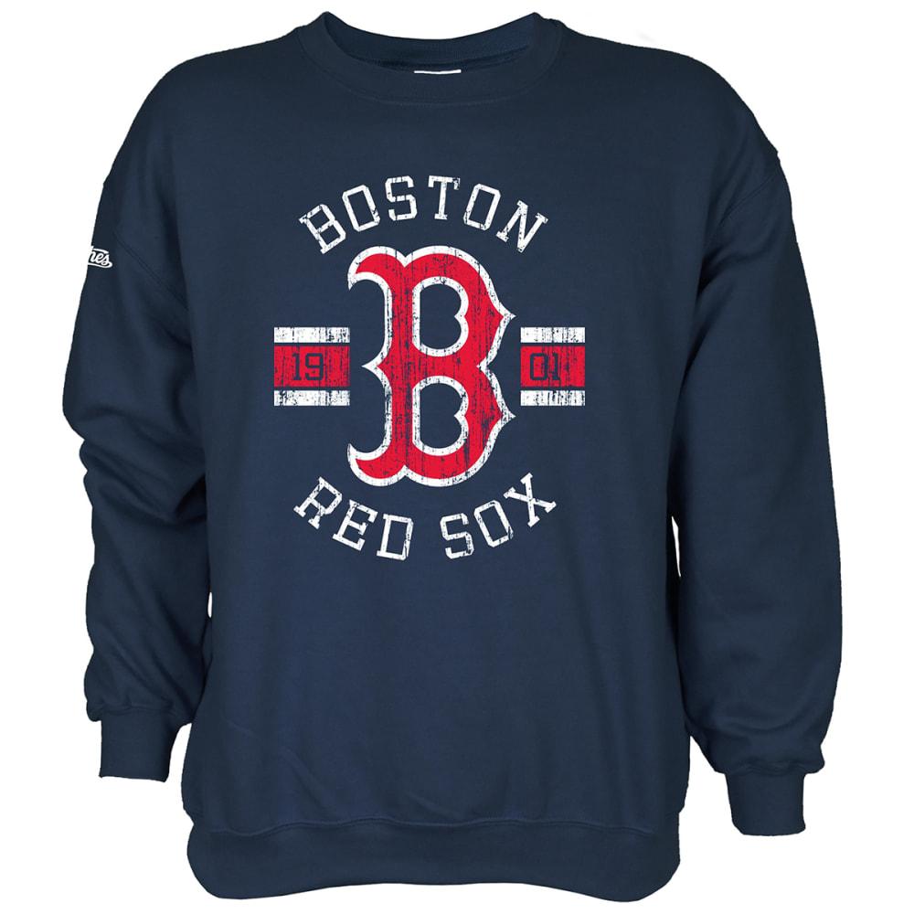BOSTON RED SOX Men's Stitches Fleece Pullover L
