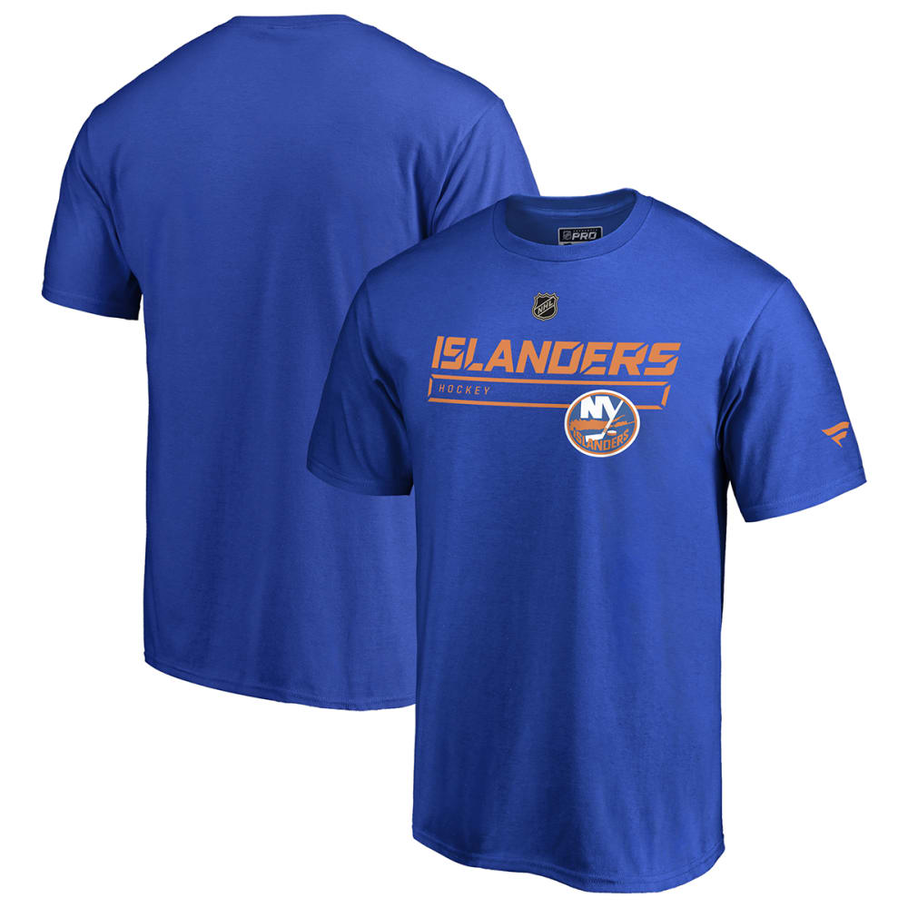 NEW YORK ISLANDERS Men's Pro Rinkside Collection Short-Sleeve Tee - ROYAL BLUE