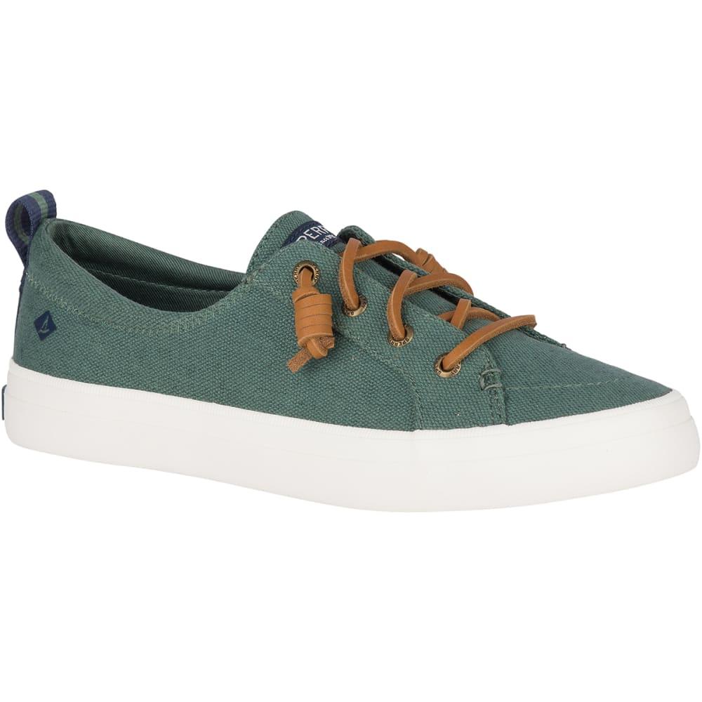 SPERRY Women's Crest Vibe Linen Sneakers - GREEN