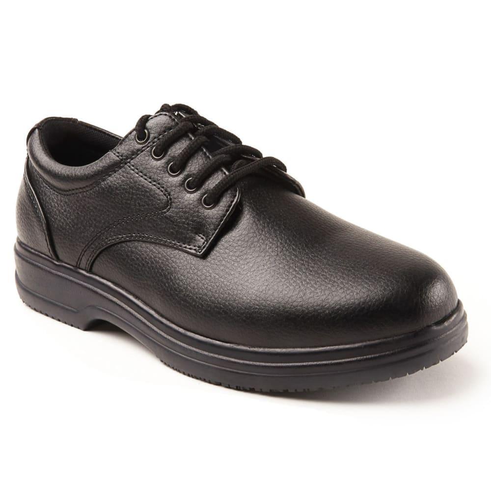 DEER TAGS Men's Service Lace Up Dress Shoes - BLACK