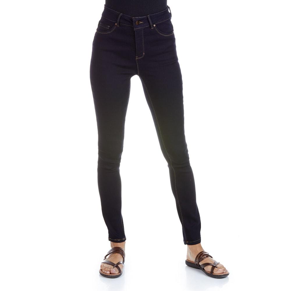 D JEANS Women's Super High Waist Skinny Jeans 4