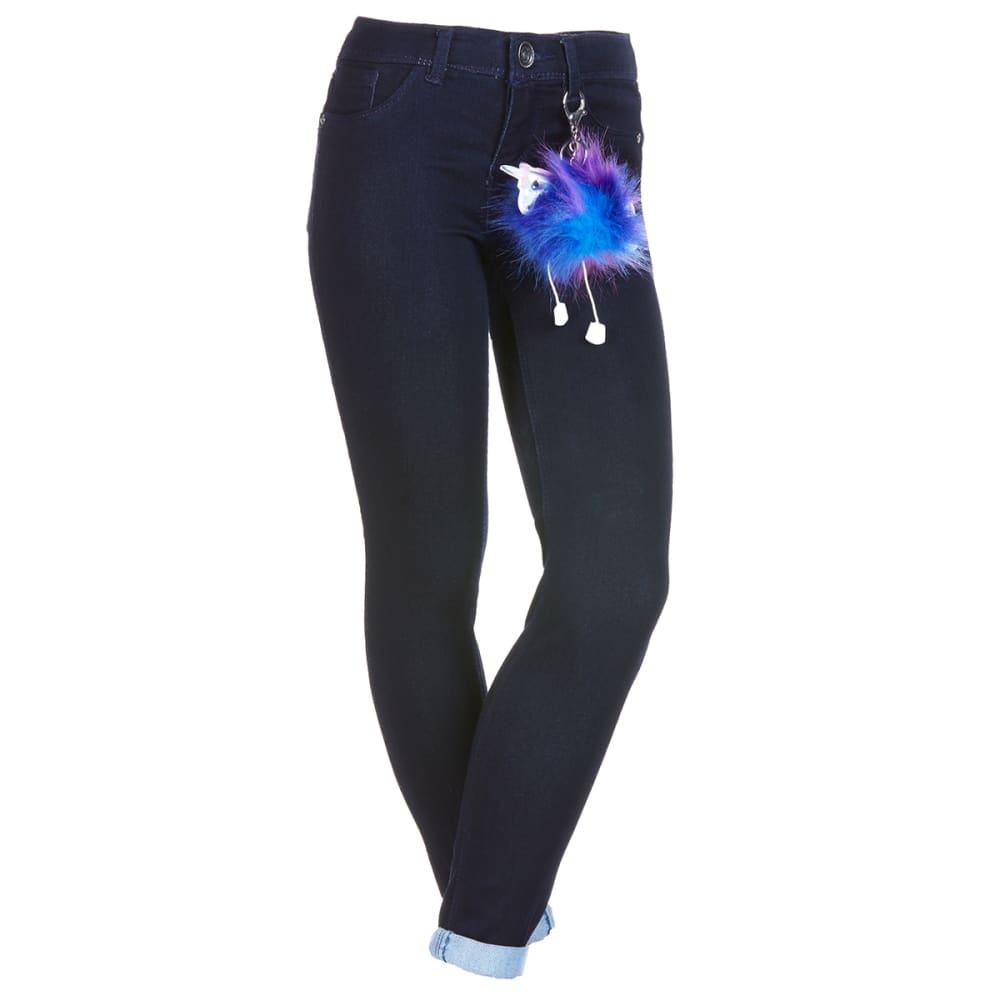 SQUEEZE Girls' 5-Pocket Skinny Jean 7