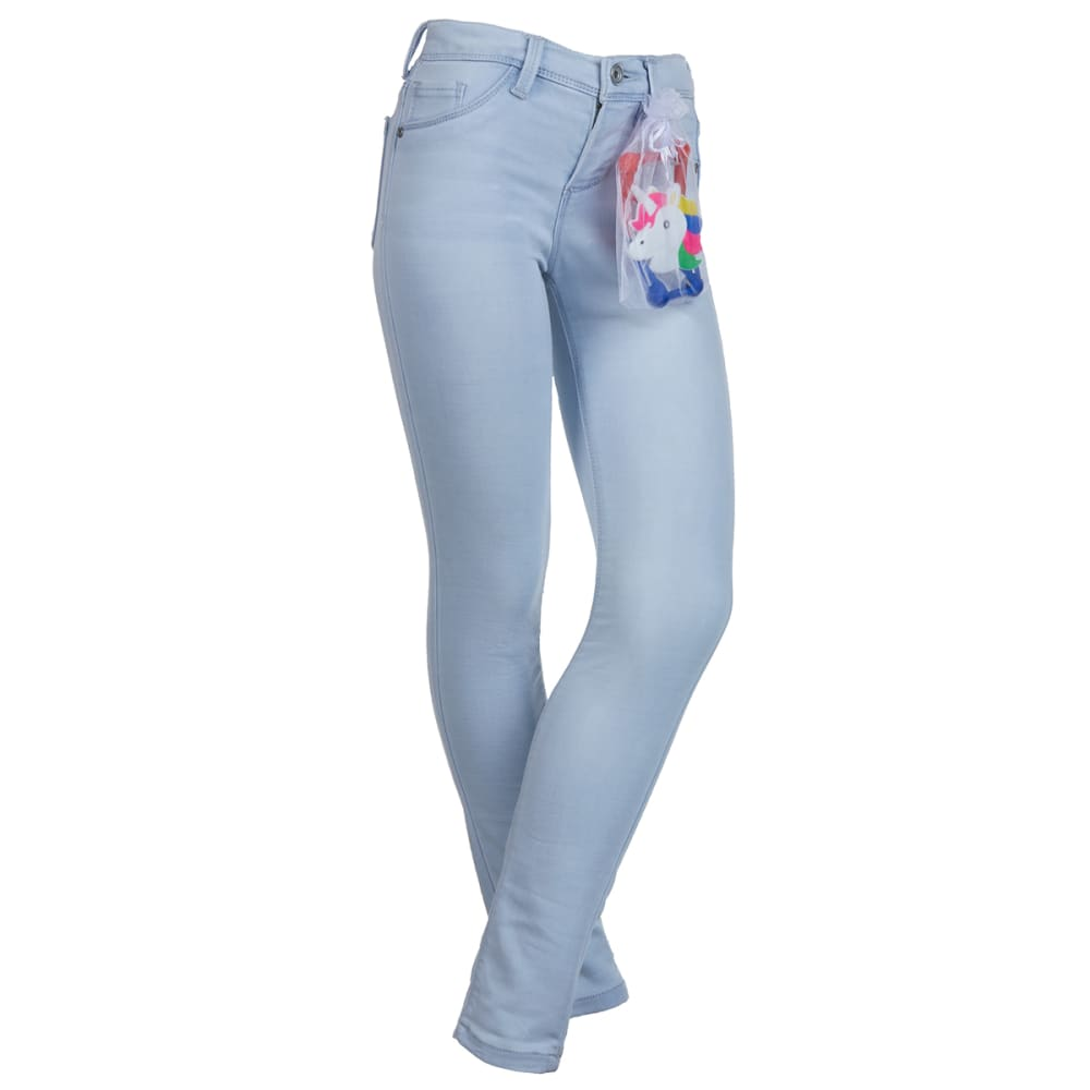 SQUEEZE Girls' 5-Pocket Skinny Jeans 7