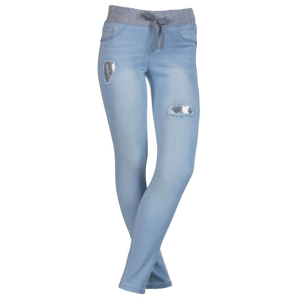 SQUEEZE Girls' Pull-On Jeggings 7